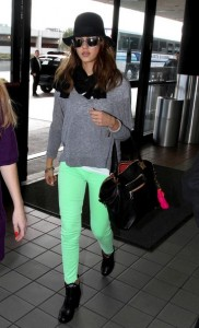 Spring Fashion Trend Neon Pants