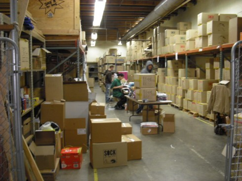 Sock It To Me's First Warehouse Space