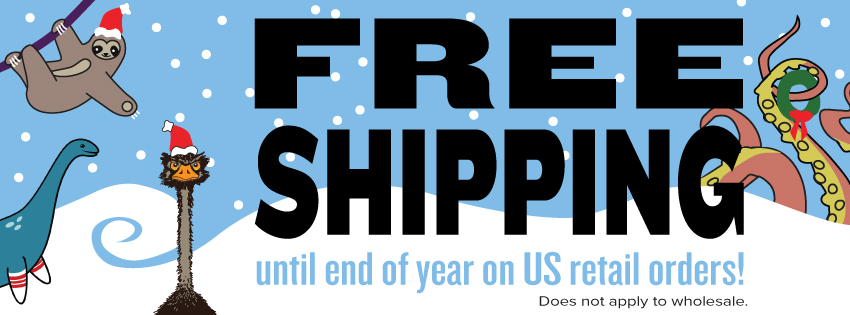 2013 end of year free shipping US