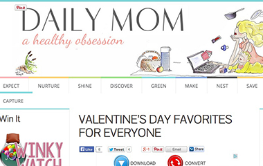 Daily Mom Valentine's Day Sock It To Me Feature