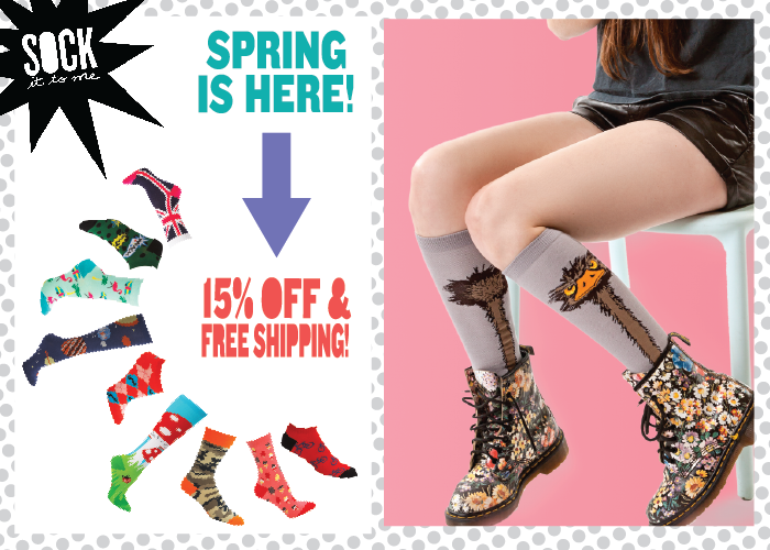 Spring Sale 2014 Sock It To Me