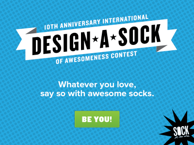 DASC14 Design A Sock Contest 2014