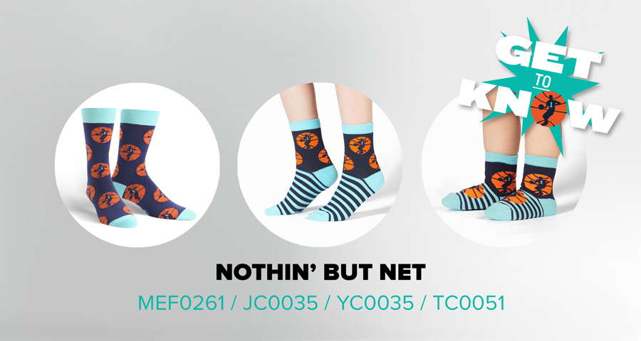 Get to Know Nothin' But Net Socks
