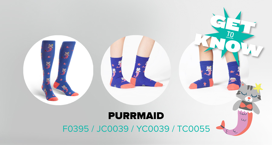 Get to Know Purrmaid Socks