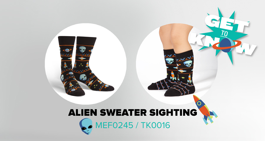 Get to Know Alien Sweater Sighting