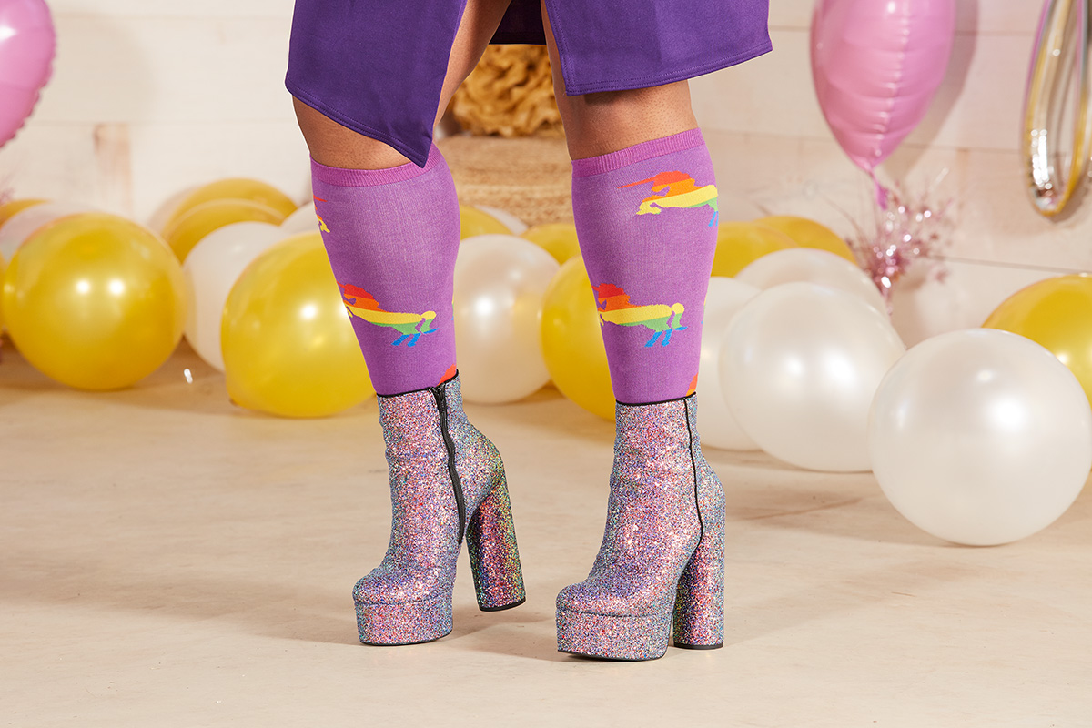 Proud & Fabulous Knee High Socks for Women & Men S0054.