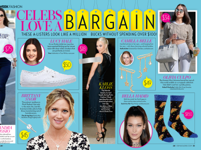 OK! Magazine Features Sock It to Me Pizza Party Socks