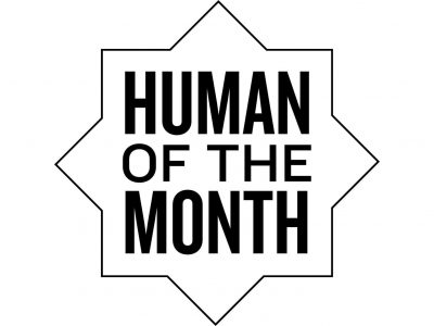 Human of the Month logo